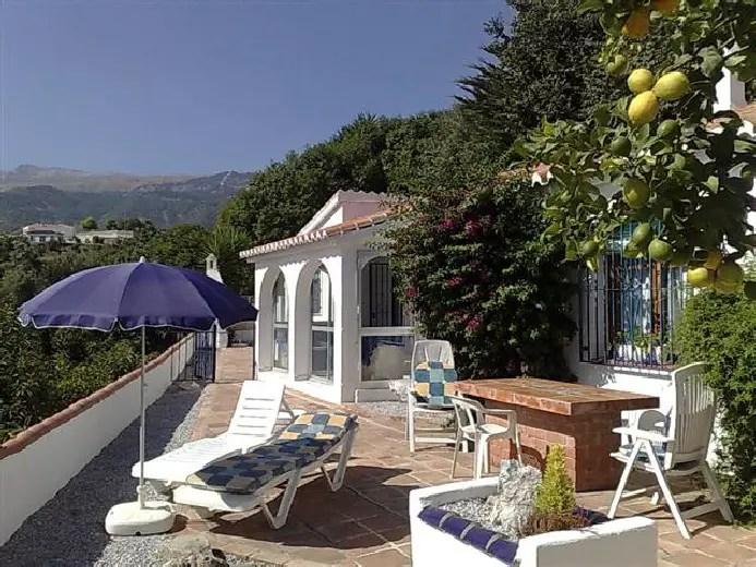 Holiday Villa in Competa, Villa Nispero