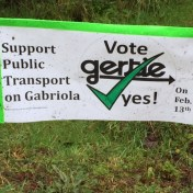 Gertie lawn sign