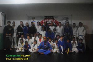 Connection Rio visit to Drive-In BJJ