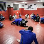 A busy 8pm class at Checkmat Rio