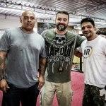 MMA coaches Luis 'Bebeo' Duarte, Andrei Benkei & Shooto champ Alexandre 'Pequeno' Nogueira