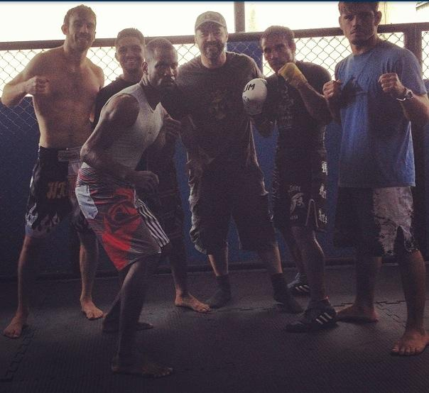 MMA training in Rio def Janeiro with the pros - training hard every day!