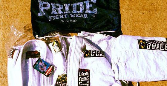 free BJJ gi kimono Pride fightwear