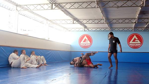 Gracie Barra BJJ gym Rio