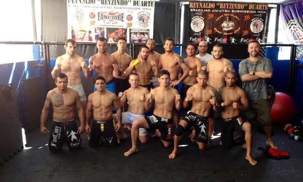 Torryn, Milton and the rest of the MMA squad at American Top Team Rio