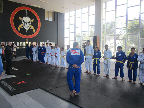 training with bope bjj