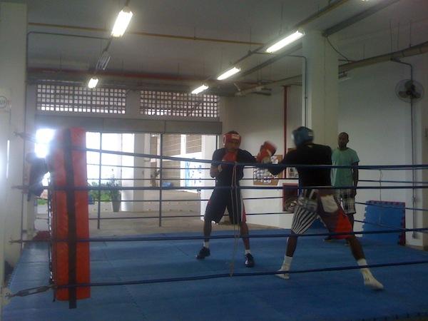 Training boxing Rio de Janeiro
