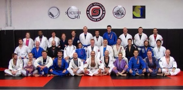 Lee at Jeremy Arel's Great Grappling BJJ in South Carolina