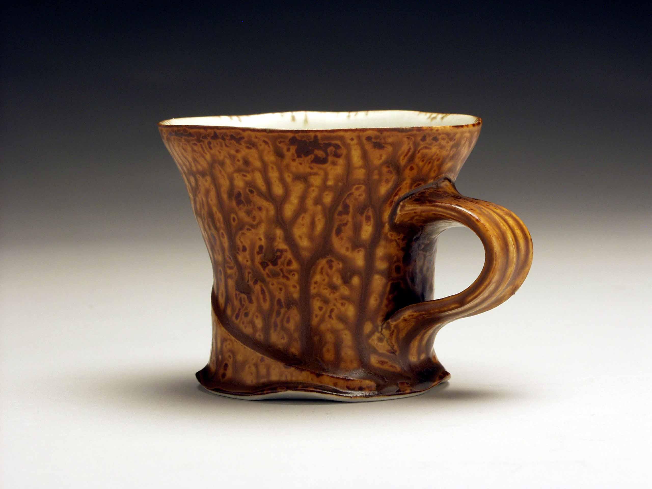Distinctive Conner Burns Ash Glazed Mug Mugs Handles Conner Burns Mississippi Pottery Mugs Without Handles Making Pottery Mug Handles furniture Pottery Mug Handles