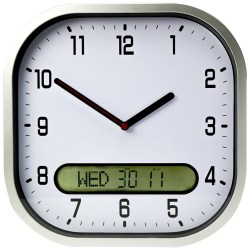 Noble Senior Citizens Easy To Read Wall Clock Anybody A Big Display Connevans Easy To Read Wall Clocks Limited Vision Or This Easy To Read Wallclock Has Large Contrast Numbers Clocks