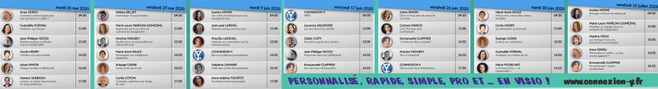 Programme 2020 spécial crise - CONNEXION Y