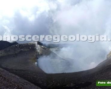 FOTO 1 – L'area sommitale dell'Etna il 16 luglio 2013.