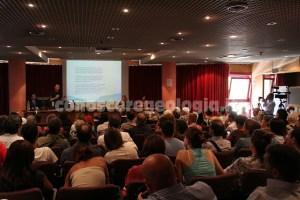 foto 1. conferenza stampa INGV terremoto Amatrice