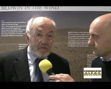 geologo Gianni Menchini, presidente dell'ordine dei Geologi del Friuli Venezia Giulia