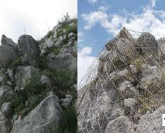 consolidamento costoni rocciosi