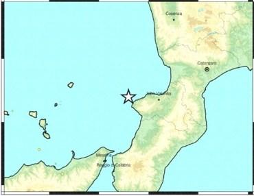 terremoto costa calabra epicentro dei terremoti COPERTINA