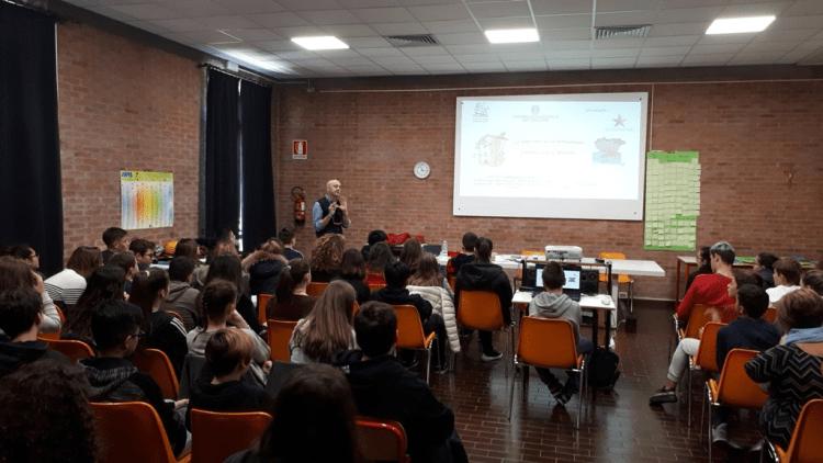 Geologi presso la Scuola media ''Marco Polo'' di San Giorgio delle Pertiche PD