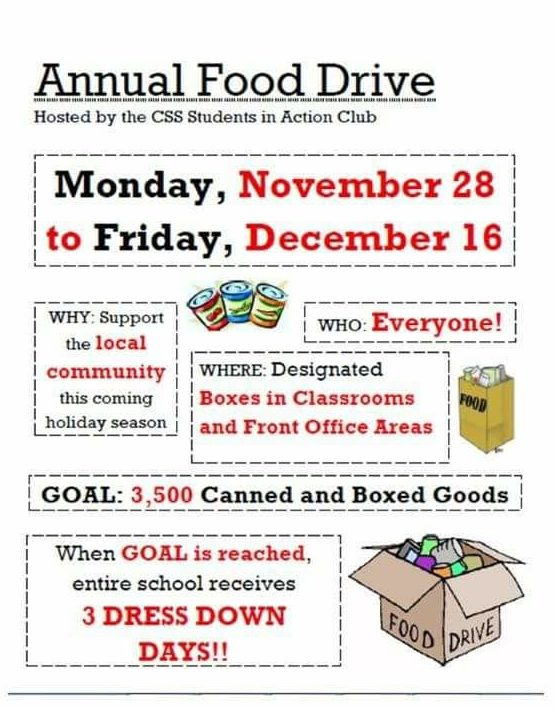 CSS-Annual-Food-Drive