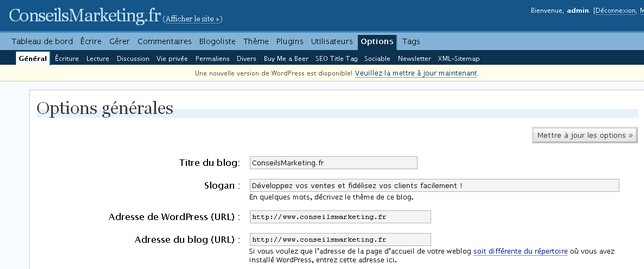 optimisation titre blog