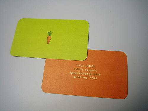 carte de visite originale