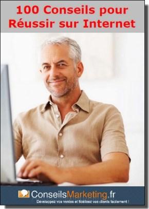 ebook 100 conseils pour réussir sur internet