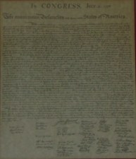 The Declaration of Independence. What would our forefathers say today about Barack Obama?
