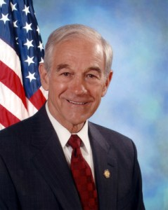 Ron Paul, contender in the GOP debate