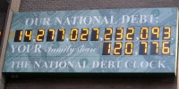 The National Debt Clock - the forgotten fact in the fiscal cliff drama