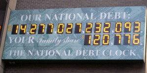 The National Debt Clock - the real reason for the Standard and Poor downgrade