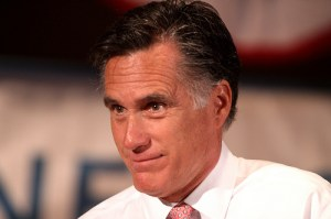 Mitt Romney. In the Sandy storm, Romney shows better leadership than Obama.