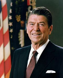 Ronald Reagan did not make excuses, as Barack Obama makes