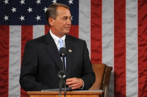 John Boehner, Speaker of the House. A second example of taxation without representation.