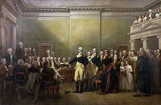 General George Washington resigns his commission. The Democrats could probably never understand this.