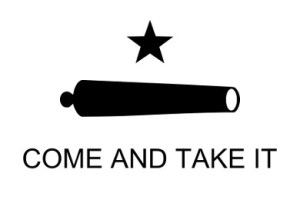 The obvious answer to gun control: Come and take it!