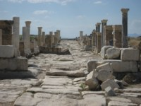 Laodicea was the original moderate city.