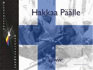 TSWW: Hakkaa Päälle (new from Diffraction Entertainment)
