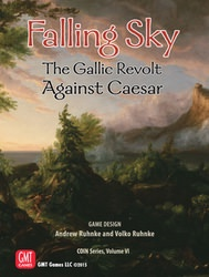 Falling Sky: The Gallic Revolt Against Caesar (new from GMT Games)