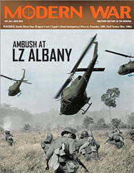 Modern War, Issue 24: Ambush at LZ Albany (new from Decision Games)