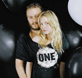 Heath Ledger & Michelle Williams