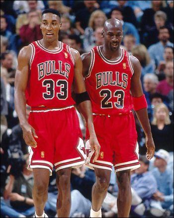 Jordan and Pippen