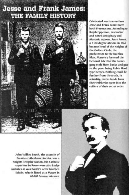 Jesse James Freemason