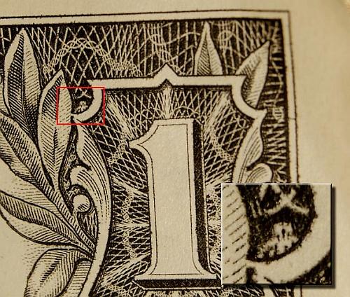 Owl Dollar Bill