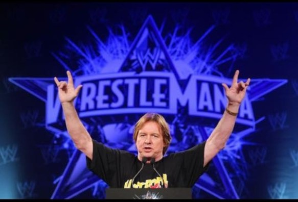 Roddy Piper Satan Hand Sign
