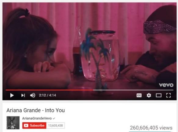 Ariana Grande Fish Bowl