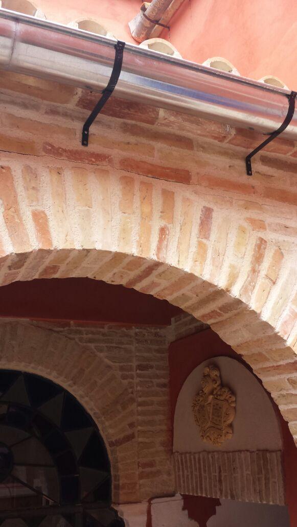 Reforma arcos piedra