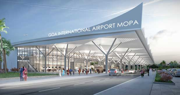 Detailed design and engineering work for GMR Goa International Airport  under progress