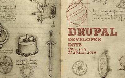 road to drupal developer days milan