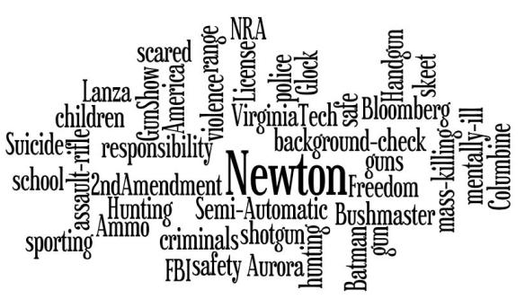 Gun Violence Word Cloud