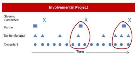 Involvement in Project by Role