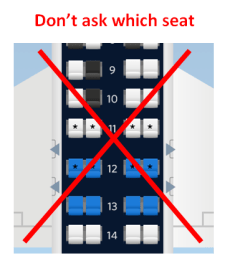 dont pick your seat
